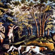 Hunting: Woodcock, 1852 Art Print