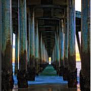 Huntington Beach Pier 2 Art Print