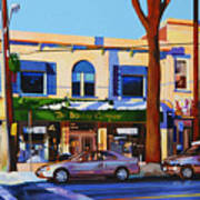 Huntington Village Art Print