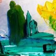Hurricane Katrina  After Art Print