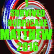 Hurricane Matthew Survivor Art Print