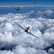 Hurricanes On Your Tail Art Print
