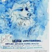Huskies Team And Mascot-armory 2005 Art Print
