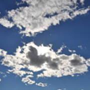 Huson River Clouds 1 Art Print