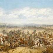 Hussars At The Battle Art Print