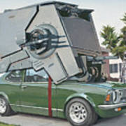 Hybrid Vehicle Art Print