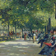 Hyde Park - London  Art Print