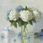 Hydrangeas For Susan Art Print