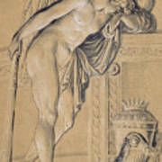 Hymen Mourning Art Print