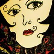 Hypnotic Beauty Art Print