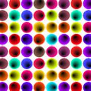Hypnotized Optical Illusion Art Print