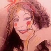 I Am A Clown  Art Print