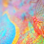 I Am Butterfly V2 Art Print