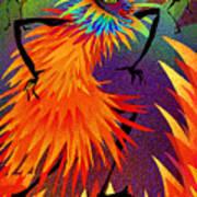 I Am Fire Art Print