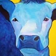 I Am So Blue Art Print