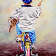 I Am The King Of The World 1 - Yo Soy El Rey Del Mundo 1 Art Print