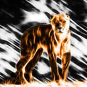 I Am The Lioness Art Print