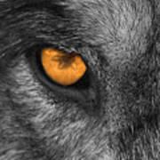 I Am Wolf Art Print