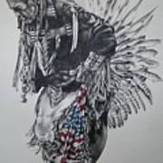 I Close My Eyes And Hear The Songs Of My Ancestors Art Print