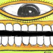 I Like 2 Smile Rs Art Print