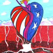 I Love America Art Print