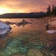 I Love Lake Tahoe Art Print