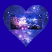 I Love The Night Sky Art Print