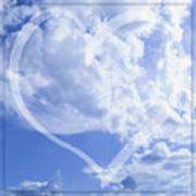 I Love You To The Clouds And Back Art Print