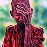 I Must Go On Art Print by Shahid Muqaddim