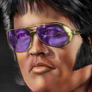 I Remember Elvis Art Print
