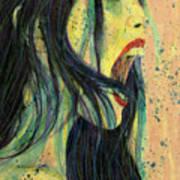 I Scream For You Liv Tyler Art Print