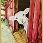 I See Ewe Little Lamb Art Print