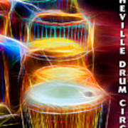 I Sing The Drums Electric Art Print