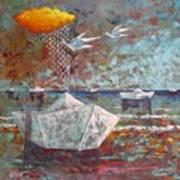 I Sogni Di Carta Art Print