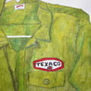 I Worked At Texaco Art Print