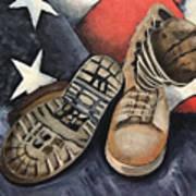 Ians Boots V1 Art Print