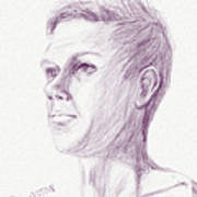 Ian's Sketch One Art Print