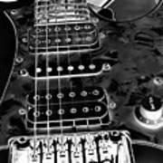 Ibanez Guitar Art Print