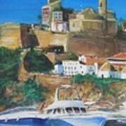 Ibiza Town  Art Print