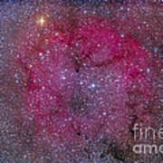 Ic 1396 And Garnet Star In Cepheus Art Print