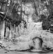 Ice Castle Art Print