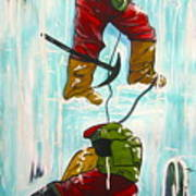Ice Climbers Art Print
