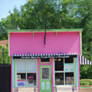 Ice Cream Parlor Art Print