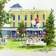 Ice Cream Social And Strawberry Festival, Lakeside, Oh Art Print