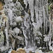 Ice Droplets  Art Print