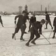 Ice Hockey 1912 Art Print