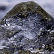 Ice Mountain 2 Art Print