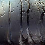 Ice On Window 3 Art Print