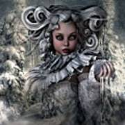 Ice Princess 004 Art Print