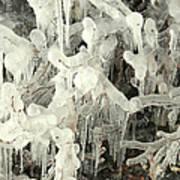 Ice Works Art Print